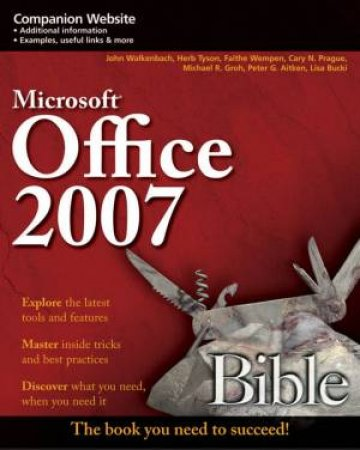 Microsoft Office 2007 Bible by Various