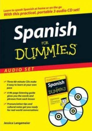 Spanish For Dummies: Audio Set