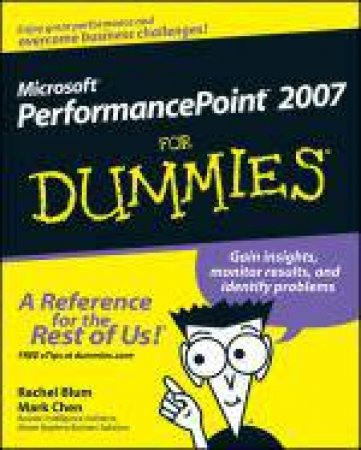 Microsoft Performancepoint 2007 for Dummies® by Thomas C Hammergren