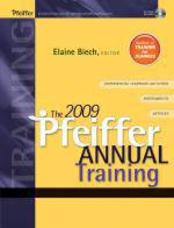 2009 Pfeiffer Annual: Training (W/ CD) by Elaine Biech