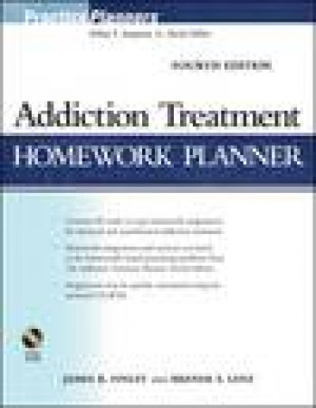 Addiction Treatment Homework Planner,4rth Ed by James R Finley & Brenda S Lenz