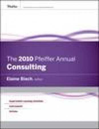 2010 Pfeiffer Annual: Consulting by Various