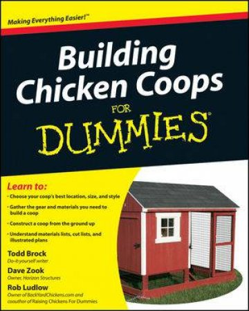Building Chicken Coops For Dummies by Unknown