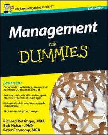 Management for Dummies 2E by Richard Pettinger