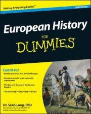 European History for Dummies 2E