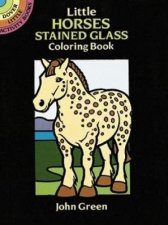 Little Horses Stained Glass Coloring Book