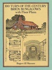 100 TurnoftheCentury Brick Bungalows with Floor Plans