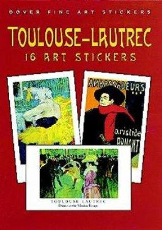 Toulouse-Lautrec by HENRI DE TOULOUSE-LAUTREC