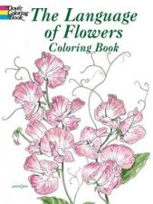 Language of Flowers Coloring Book