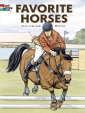 Favorite Horses Coloring Book