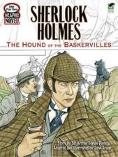 Color Your Own Graphic Novel SHERLOCK HOLMES