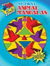 3D Coloring Book  My First Animal Mandalas