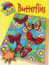 3D Coloring BookButterflies