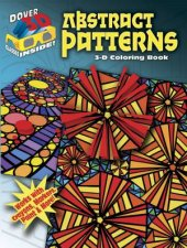 3D Coloring Book  Abstract Patterns