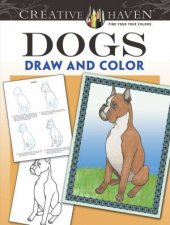 Creative Haven Dogs Draw and Color