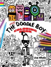Official Doodle Boy Coloring Book