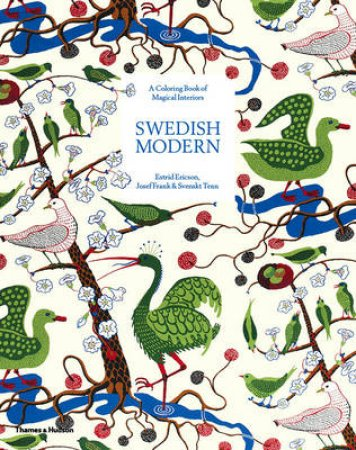Swedish Modern: A Colouring Book of Magical Interiors by Svenskt & Ericson Tenn