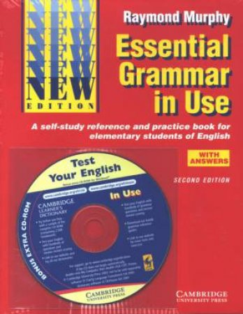 Essential Grammar in Use - with CD by Raymond Murphy - 9780521529327 - QBD  Books