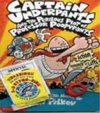 Captain Underpants Set with Hypno Ring