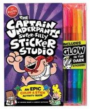 Captain Underpants Super Silly Sticker Studio