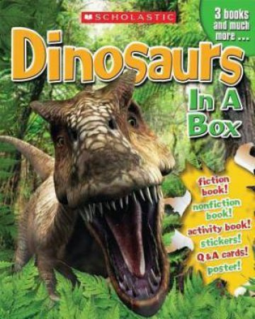 Dinosaurs in a Box by Gina Shaw