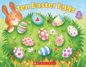 Ten Easter Eggs by Vijaya Bodach