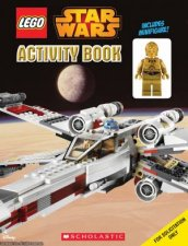 LEGO Star Wars Activity Book with Mini Figurine