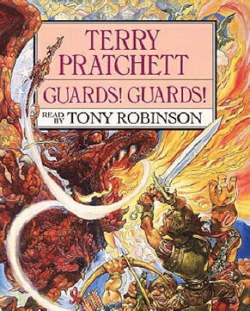 Guards! Guards! (Cassette) by Terry Pratchett