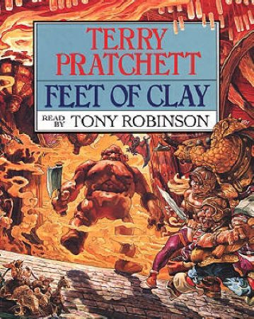 Feet Of Clay (Cassette) by Terry Pratchett
