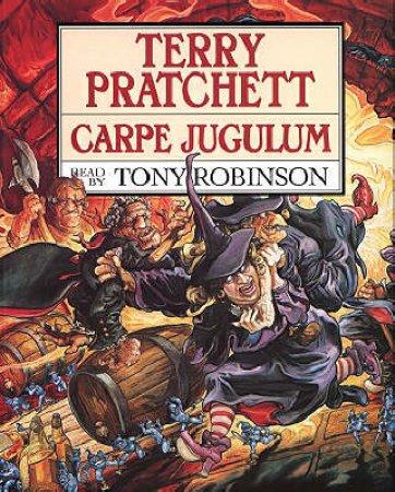 Discworld 23:Carpe Jugulum (Cassette) by Terry Pratchett