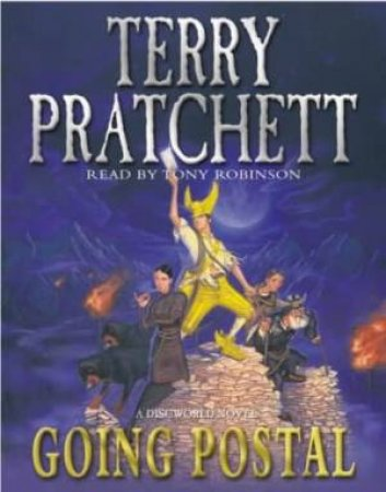 Going Postal (Cassette) by Terry Pratchett