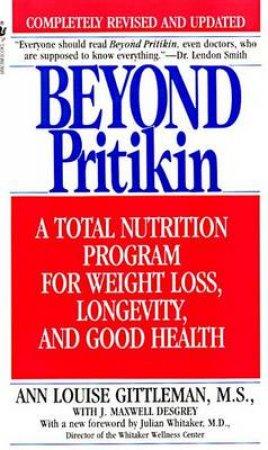 Beyond Pritikin by Louise Gittleman