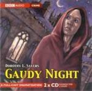 Gaudy Night - CD by Dorothy Sayers