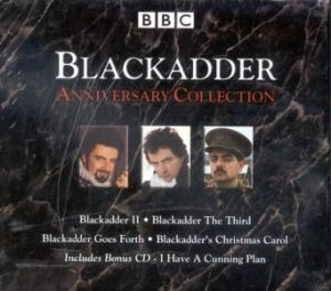 Black Adder Anniversary Collection Cd By Richard Curtis Ben