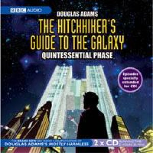 Hitchhiker's Guide To The Galaxy - Quintessential Phase - CD by Douglas Adams