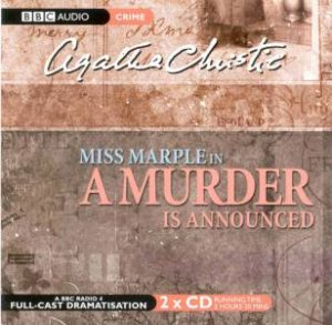 Murder Is Announced  2xcd by Agatha Christie