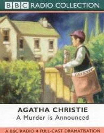 BBC Radio Collection: Miss Marple: A Murder Is Announced - Cassette by Agatha Christie