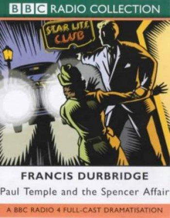 Paul Temple And The Spencer Affair - Cassette by Francis Durbridge