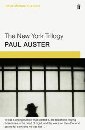 Faber Modern Classics: The New York Trilogy