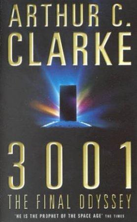 3001The Final Odyssey by Arthur C Clarke