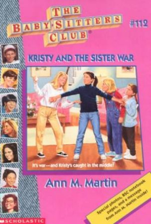 Kristy And The Sister War by Ann M Martin