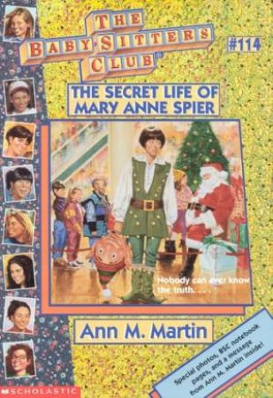 The Secret Life Of Mary Anne Spier by Ann M Martin