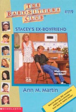 Stacey's Ex-Boyfriend by Ann M Martin