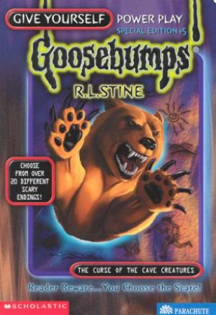 The Curse Of The Cave Creatures by R L Stine