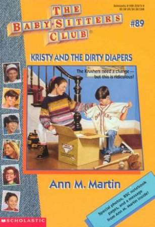 Kristy And The Dirty Diapers by Ann M Martin