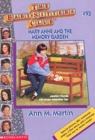 Mary Ann And The Memory Garden by Ann M Martin