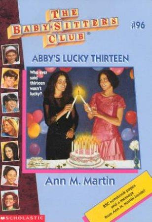 Abby's Lucky Thirteen by Ann M Martin