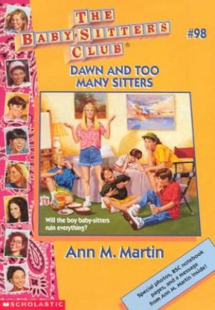 Dawn And Too Many Sitters by Ann M Martin