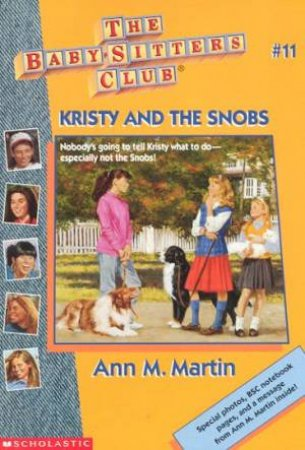 Kristy And The Snobs by Ann M Martin