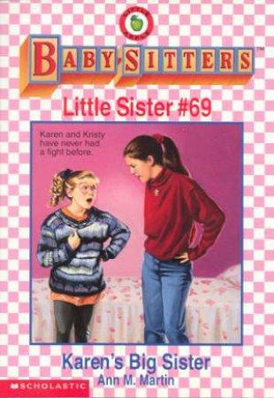Karen's Big Sister by Ann M Martin